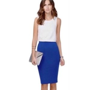 J Crew Cobalt Blue No. 2 Pencil Skirt
